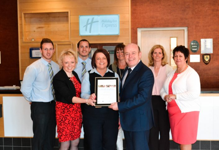 Customer Service Award from People 1st