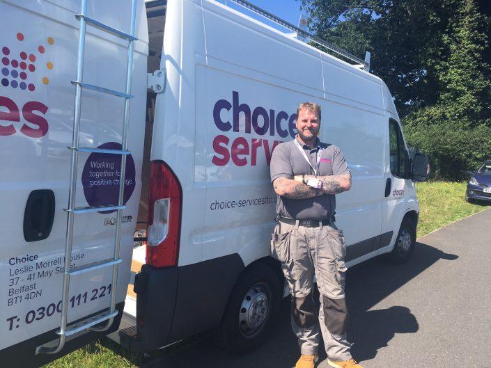 Providing maintenance for Choice Housing