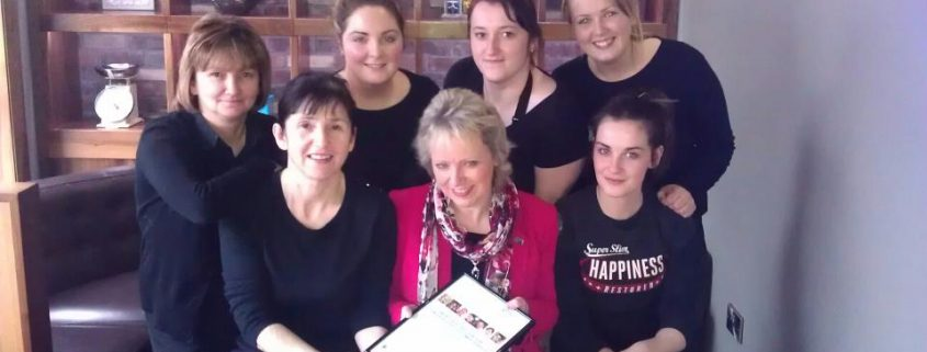 Staff training in customer service in Newry coffee shop