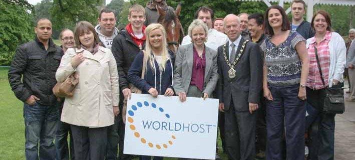 WorldHost Ambassador Fam Trip in Antrim