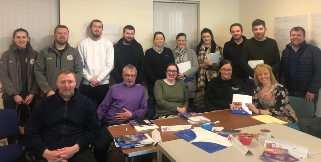 WorldHost Ambassador Workshop in Randalstown Arches